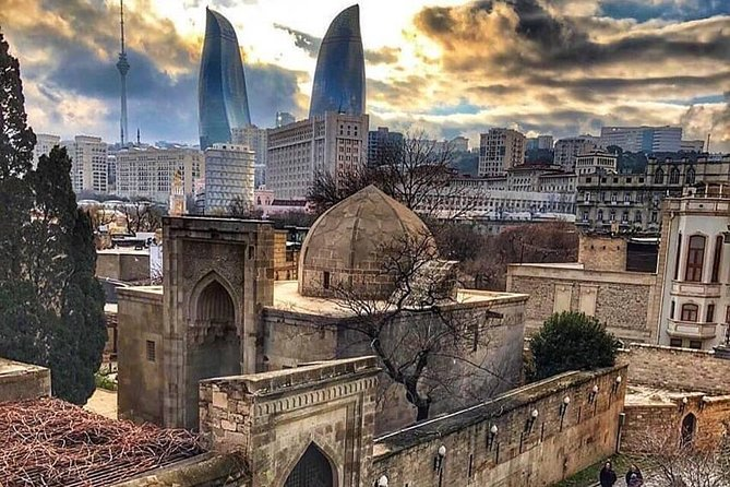 Baku city tours with guide and fresh new VIP car