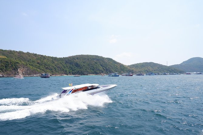 Private : Koh Larn Day Tour by Speed Boat