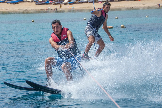 Water ski for Professionals Hit the surface of Red Sea - Hurghada