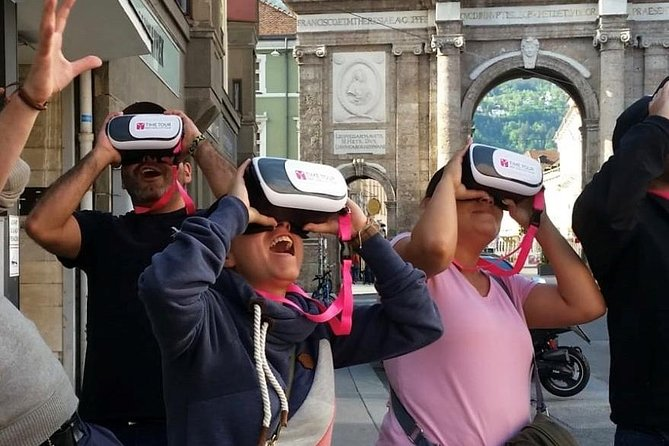 NEW: Guided virtual reality exploration tour through Innsbruck