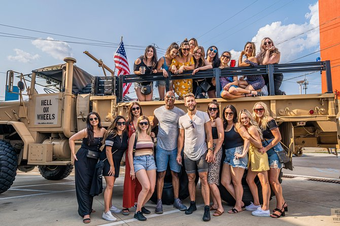 Private Nashville Party Tour in Military Vehicle