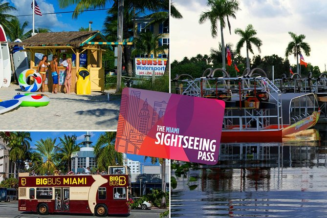 The Miami Sightseeing Day Pass: Enjoy 35+ Sun-Soaked Attractions & Tours
