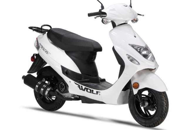 Rent a Scooter 2 Hours + 1 Hour Free , 1 person