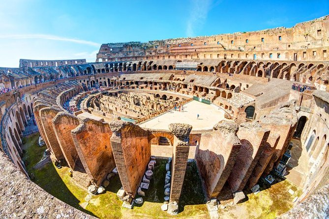 Exclusive Colosseum Gladiators Arena Ancient Rome guided Tour VIP Entry Tickets