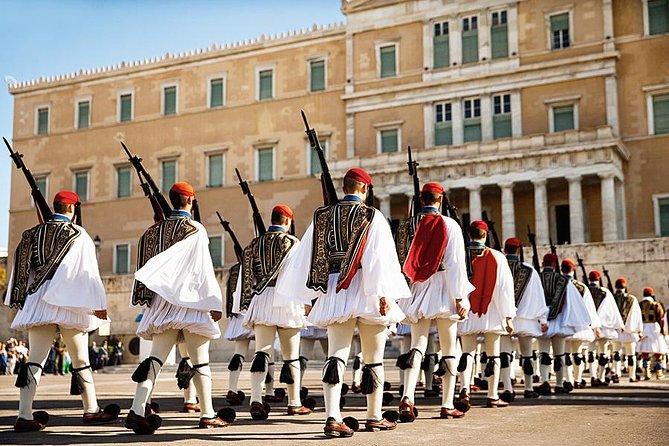 Evzones-Greek Parliament