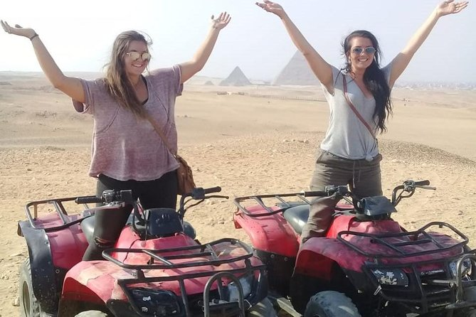 Cairo Desert Safari By ATV Quad Bike around Giza Pyramids safari