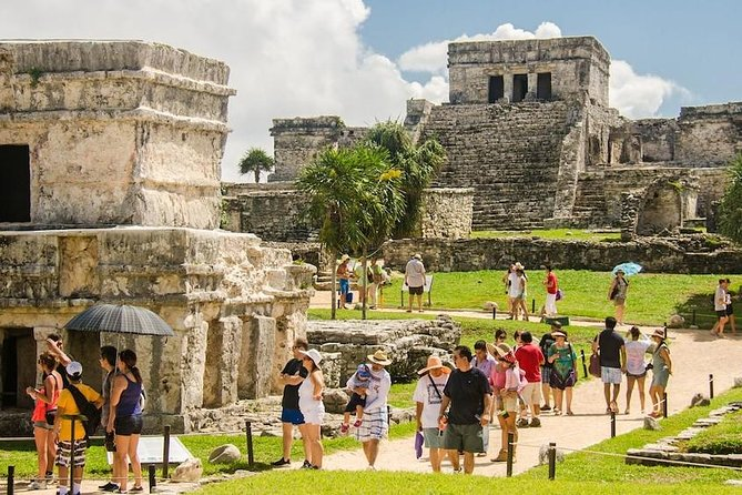 Day Trip: Tulum, Coba, Playa Del Carmen and Cenote Swim from Cancun