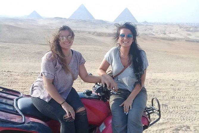 Quad Bike Around Pyramids from Cairo Giza hotels