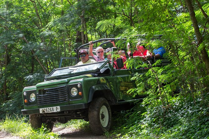 4x4 Jeep Safari Tour in Bora Bora