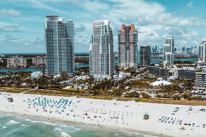 Excursão aérea de Miami - champanhe e pôr do sol