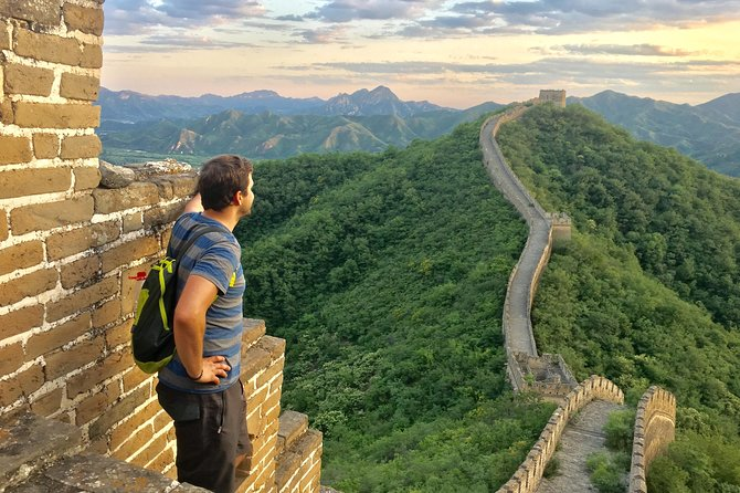 Huanghuacheng Great wall private tour and sunset watching