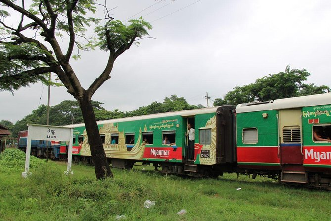 Private Bago Full Day Tour by Train
