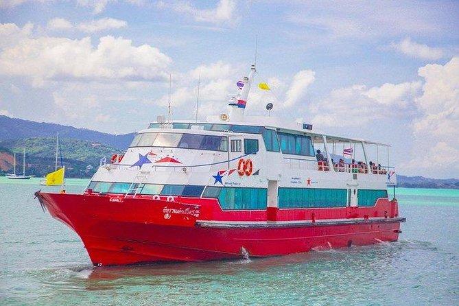 Koh Lanta to Koh Phangan by Minivan, Coach and Seatran Discovery Ferry