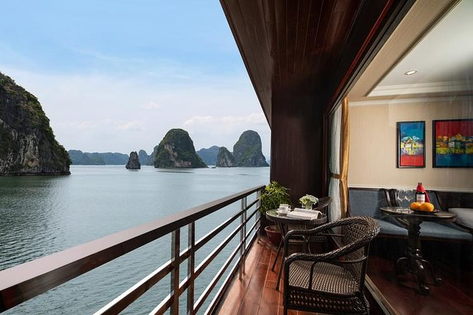 HaLong - LanHa Bay 2 Nights On The 2nd Deck with La Pandora Cruises