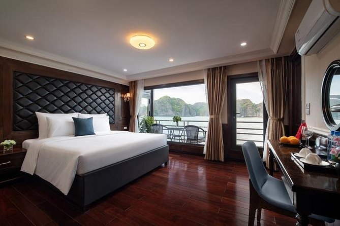 HaLong - LanHa Bay 1 Night On The Top Deck with La Pandora Cruises