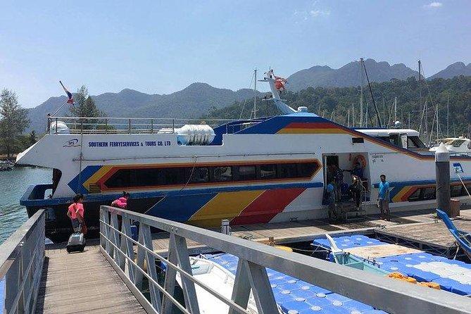Koh Lipe to Langkawi by Satun Pakbara Speed Boat, Minivan & Ferry in Low Season