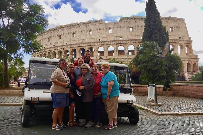 Rome in a Golf Cart 4 Hours History & Fun