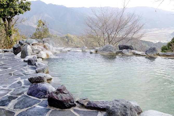 Day Tour to Japanese Hot Spring with Semi-Private vehicle