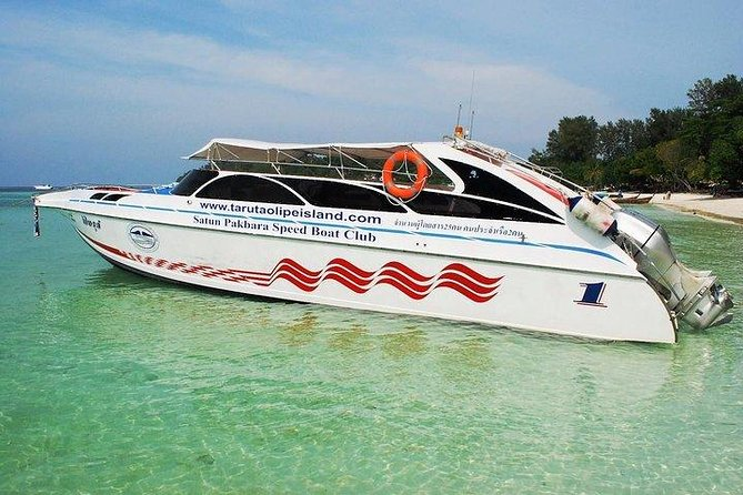 Hat Yai Airport to Koh Lipe by Minivan and Satun Pakbara Speed Boat