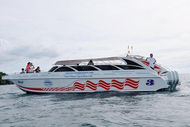 Koh Bulone to Koh Kradan by Satun Pakbara Speed Boat