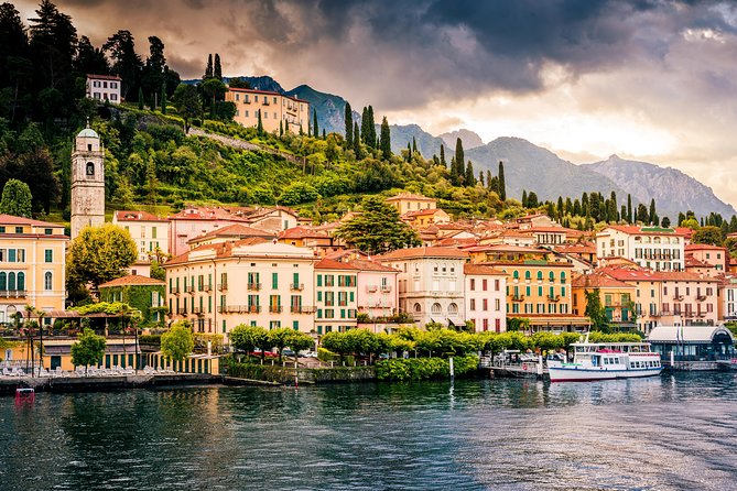 Lake Como: Luxury Bus from Milan to Visit Como and Bellagio