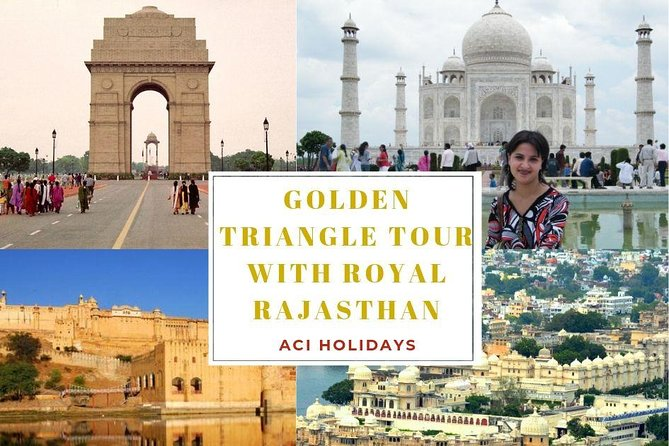 Best Exprience of Golden Triangle Tour with Royal Rajasthan