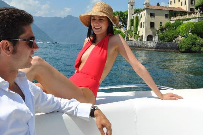 I want to discover you - 1 hour tour on the boat in lake como