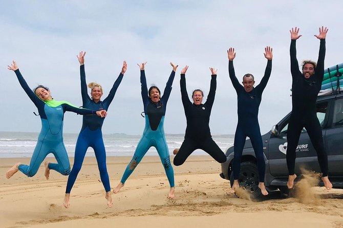 Cours de groupe de Loving Surf