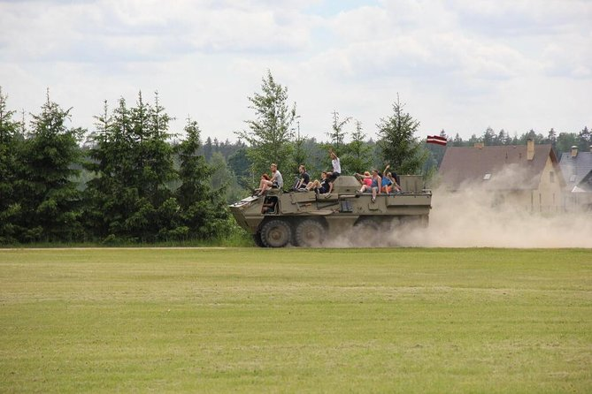 Riga Tank Ride - 2 Hours - Guided with Return Transfers photo 4
