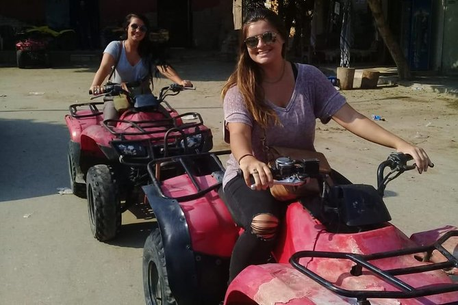 quad bike around Giza sahara for 60 minutes