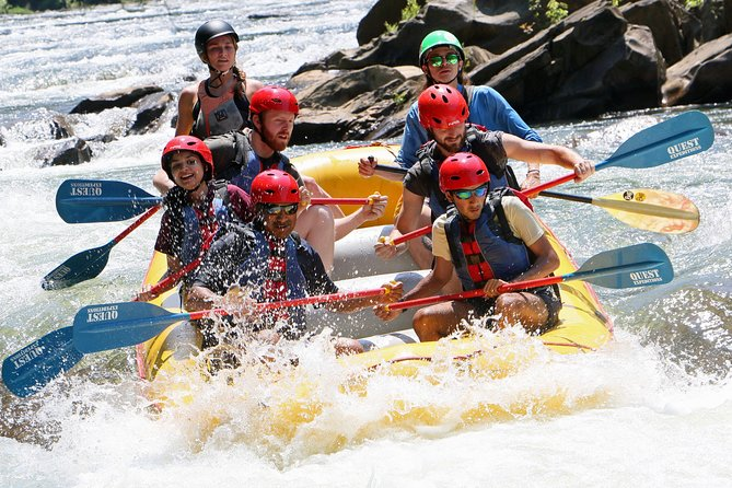 Middle Ocoee River Rafting Adventure Tour
