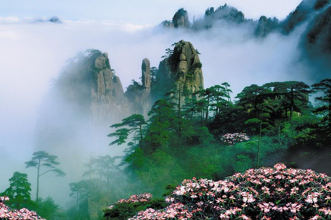 Private day tour to Mountain Huangshan with buffet Lunch and start from Tunxi