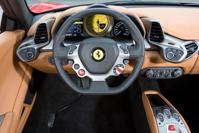 Ferrari 458 Road test drive cotswolds