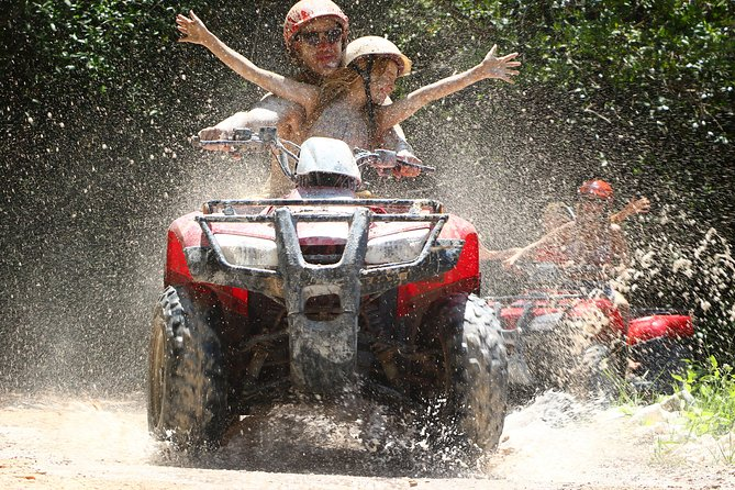 Outdoor Combo Tour: ATV with Waverunner or Speedboat from Cancun