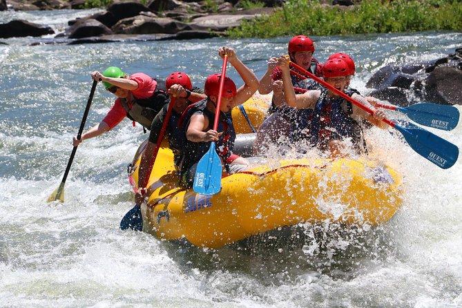 Full Ocoee River Rafting Adventure Tour