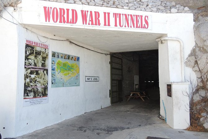 Gibraltar Sightseeing : Classic Rock Tour plus World War 2 Tunnels (Private)