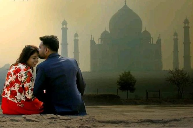 Pre-Wedding photoshoot at Taj
