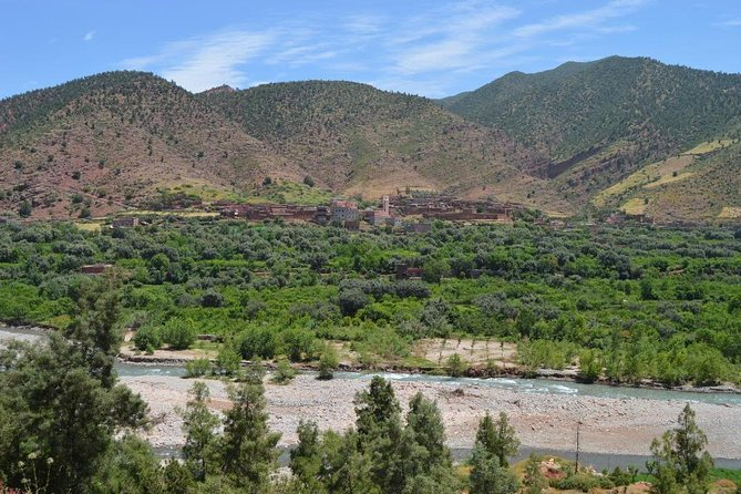 Atlas Mountains Three Valley and Berber Villages & Watterffalls Private Day Trip