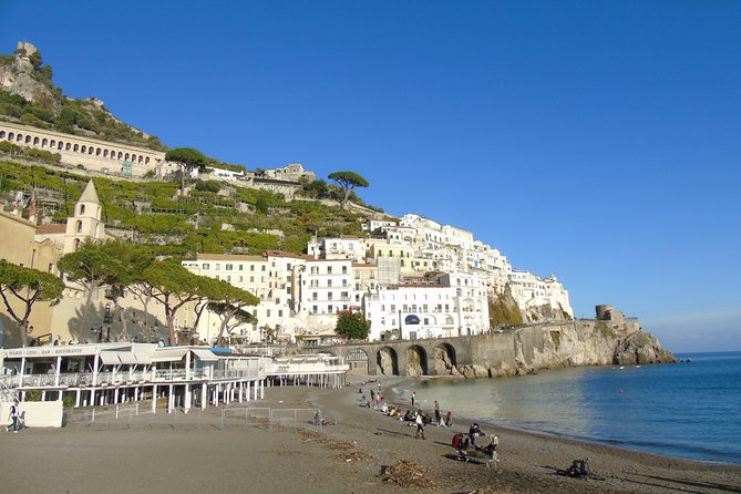 Amalfi Coast with Positano and Ravello Fullday from Rome