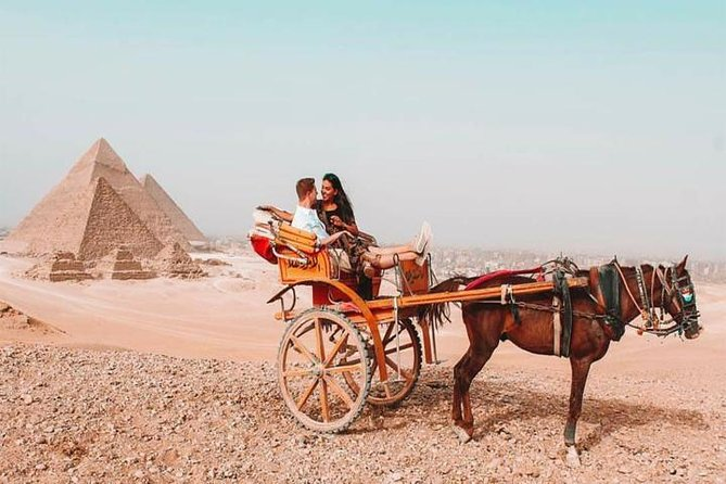 Half Day Tour to Giza pyramids by horse carriage