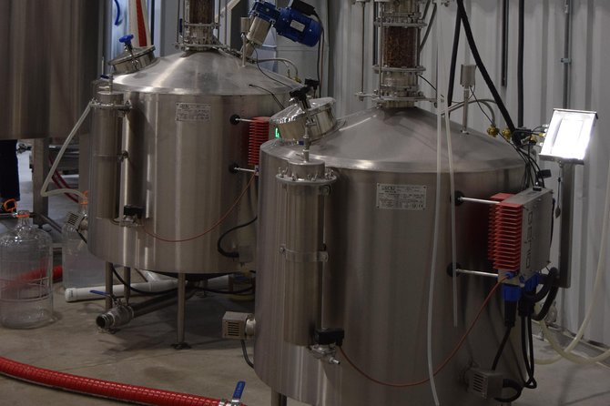 Grain to glass malt house and distillery tour