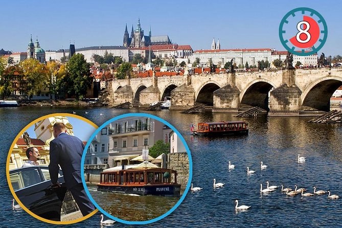 City tour privado de dia inteiro em Praga: Castelo de Praga e cruzeiro pelo rio Vltava