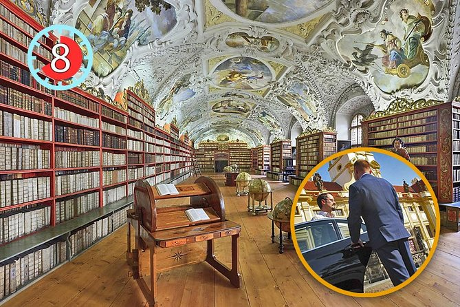 Private Full-day tour of Prague Castle and Exclusive tour of Strahov Library