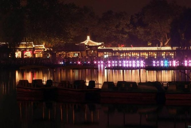 Night city Beijing tour experience Night tour Night show Private only