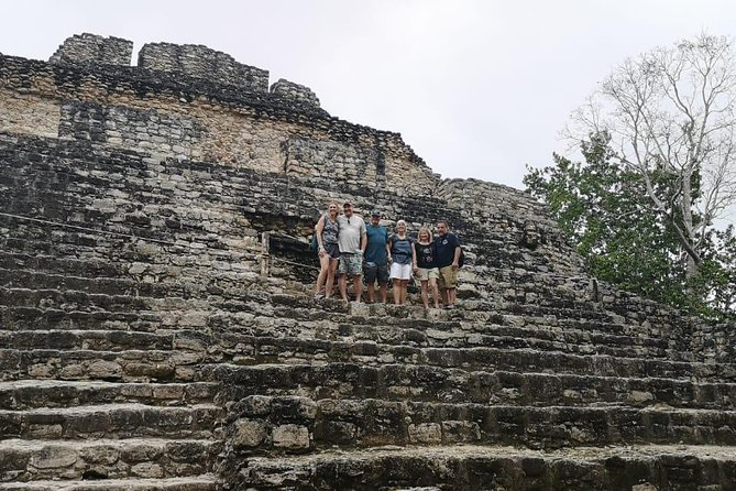 One Day Tour to Chacchoben Mayan City and Bacalar Lagoon with a Certified Guide