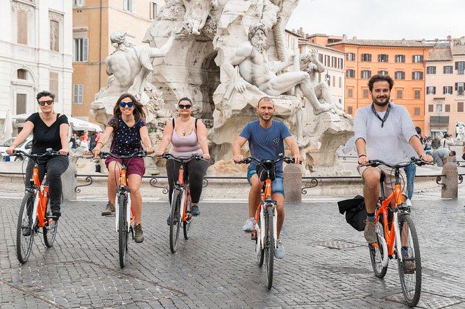 3-Hour Bike Tour in Rome