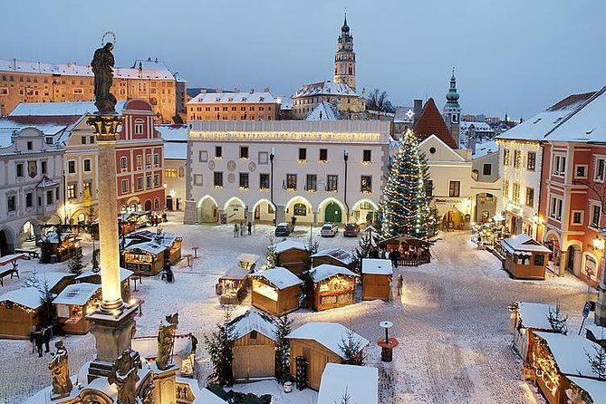 Cesky Krumlov Advent Day Trip - Visit The Most Beautiful Christmas City !
