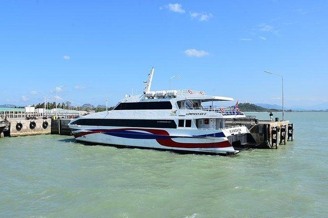 Chumphon to Koh Samui by Lomprayah High Speed Catamaran