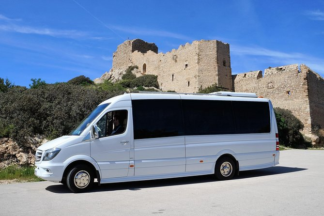RHODES & LINDOS ATTRACTIONS - GUIDED SHORE EXCURSION - HALF DAY Up to 19 People