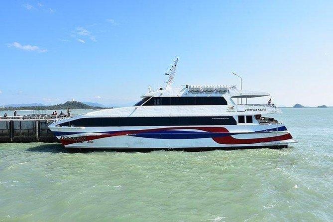 Hua Hin to Koh Tao by Lomprayah Coach and High Speed Catamaran